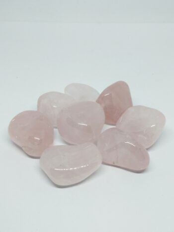 Quartz rose pierre roulée